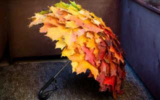 Поделки из листьев деревьев фото