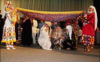 Традиции таджикской свадьбы