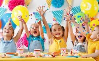 Детские десерты на день рождения с фото