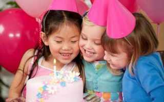 Сладкий детский стол на день рождения