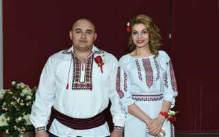 Русско молдавская свадьба