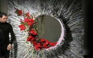 Розы из бумаги для фотозоны