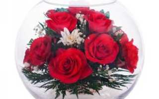 Цветы в вазе запаянные