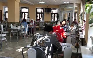 Кафе уйгурской кухни