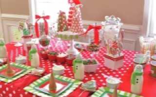 Праздничный стол на день рождения 10 лет
