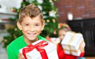 Что подарить десятилетнему ребенку на новый год