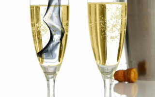 Шампанское на свадьбу какое лучше