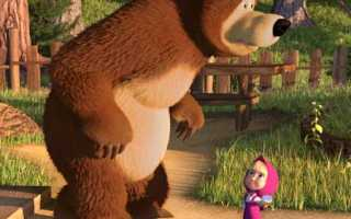Сценарий мультика маша и медведь