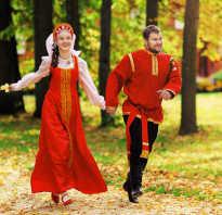 Свадьба в русско народном стиле