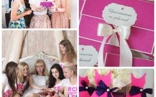 Как провести девичник перед свадьбой дома