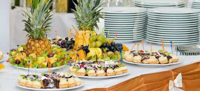 Шведский стол на день рождения рецепты