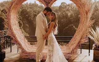 Свадебная фотозона 2020