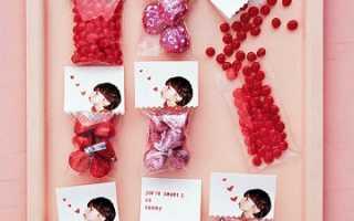 Подарок своими руками ко дню святого валентина