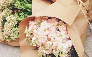 Как обернуть букет цветов