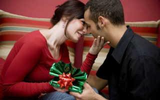 Подарок мужчине на 1 год отношений