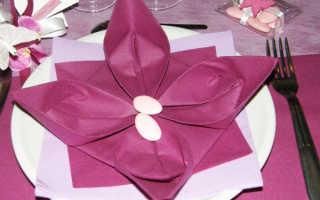 Бумажные салфетки для детского стола