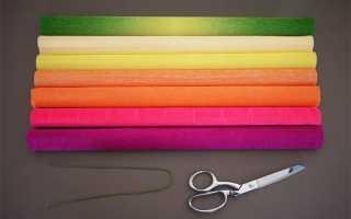 Упаковка цветов в гофрированную бумагу мастер класс