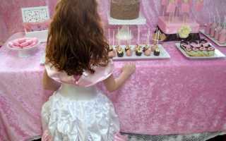 Сценарий тематического дня рождения для девочки