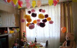 Украсить дом ко дню рождения ребенка фото