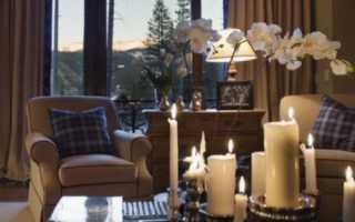 Фото романтик на полу со свечами