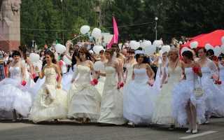 Парад невест фото
