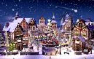 Сценарий рождественского спектакля для дошкольников