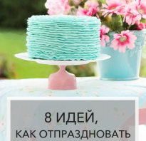 День рождения варианты празднования