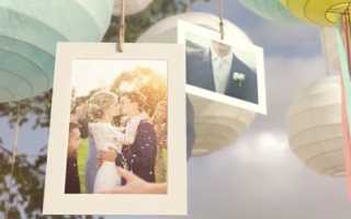 Коллаж на годовщину свадьбы онлайн