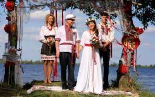 Свадьба в старорусском стиле