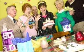 Сценарий 65 летнего юбилея женщины