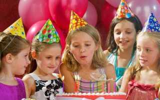 Сценарий на день рождения девочки 5 лет