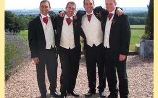 В чем пойти мужчине на свадьбу