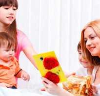 Открытка для мамы на др своими руками