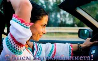 С днем водителя девушке прикольные поздравления