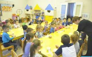 Мастер класс в ресторане для детей