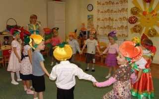 Игра с грибочками на детском празднике