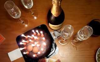 Планировка дня рождения